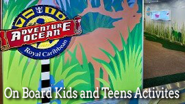 On Board Kids and Teens Activities