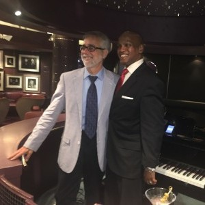 Two Gentlemen by a Piano