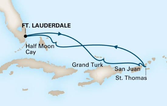 Diabetic Cruise Map
