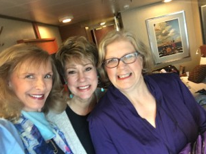 Kathy with Two Women